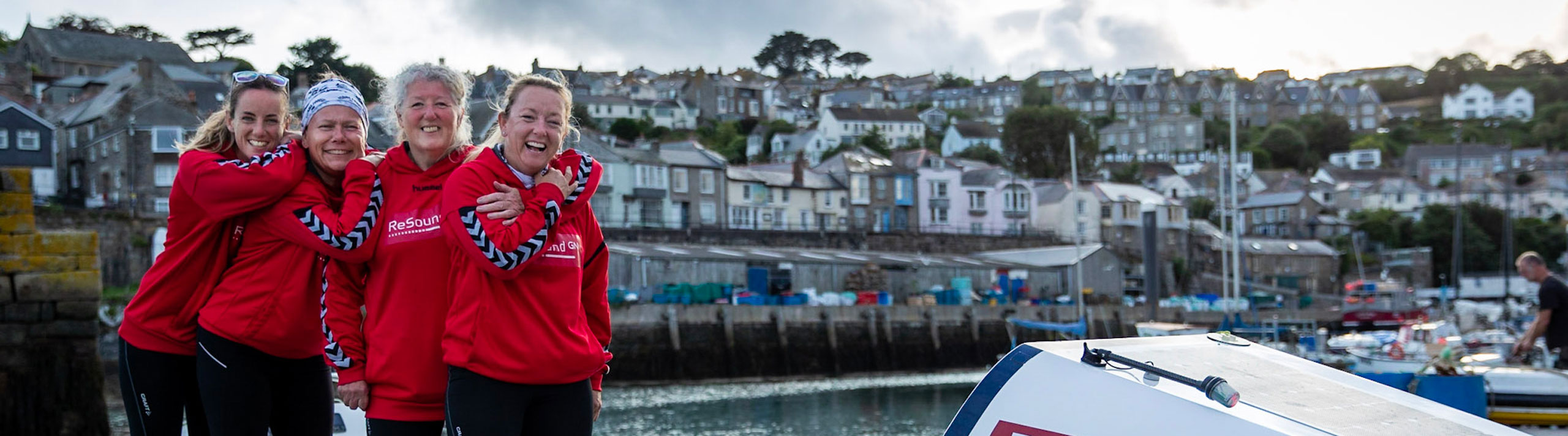 Mo O'Brien becomes the first deaf person to row across the Atlantic Ocean